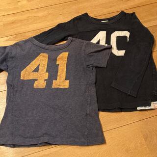デニムダンガリー(DENIM DUNGAREE)のデニム&ダンガリー Tシャツ2枚セット(Tシャツ/カットソー)