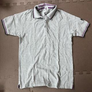 ティーケー(TK)のポロシャツ グレー(ポロシャツ)