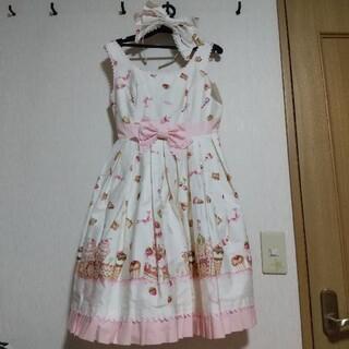 Angelic Pretty - アンジェリックプリティ お菓子の国 ジャンパースカート