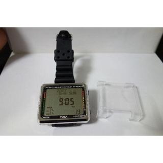 ツサ(TUSA)のダイブコンピュータ ダイブ本数5本 美品 電池交換済(マリン/スイミング)