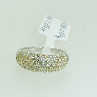R-001 K18WG リング 指輪 ダイヤモンド 1.00ct AANI アニ