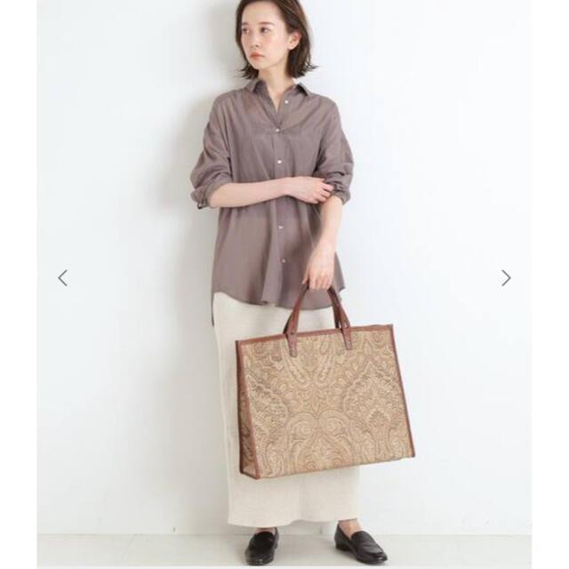 IENA(イエナ)のIENA リライムローンシャツ ベージュ サイズ38 レディースのトップス(シャツ/ブラウス(長袖/七分))の商品写真