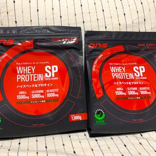 ディーエヌエス(DNS)のDNS ホエイプロテインSP チョコレート風味 1000g 2袋(プロテイン)