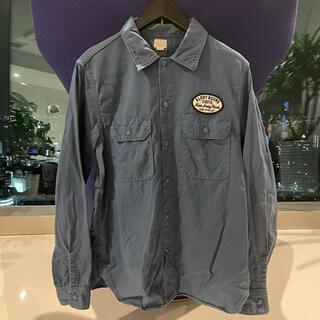 クーティー(COOTIE)のCOOTIE クーティー ネイビーワークシャツ パーカーTシャツ 帽子 キャップ(シャツ)