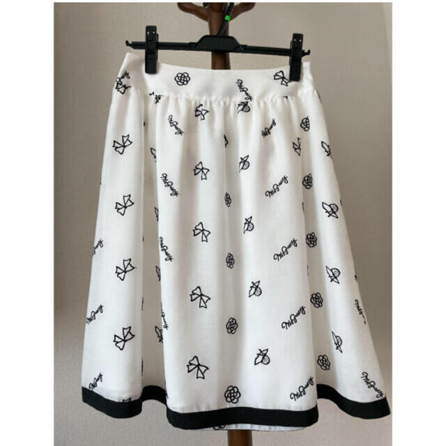 M'S GRACY(エムズグレイシー)の  M'S GRACY インスタ・カタログ掲載ワンピース同柄スカート 春モデル レディースのスカート(ひざ丈スカート)の商品写真