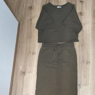 ユナイテッドアローズ(UNITED ARROWS)のユナイテッドアローズ スウェット スカート セットアップ(ロングスカート)