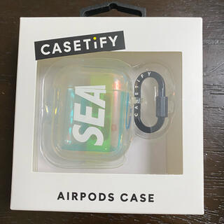 wind and sea × casetify AirPods case(その他)