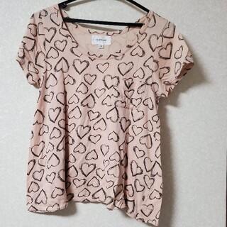 ジルスチュアート(JILLSTUART)のジルスチュアート Tシャツ ハート柄 トップス(Tシャツ(半袖/袖なし))