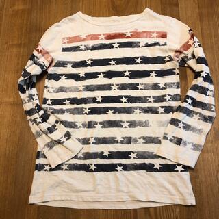 デニムダンガリー(DENIM DUNGAREE)のデニム&ダンガリー アメリカンボーダーtシャツ 160(Tシャツ/カットソー)