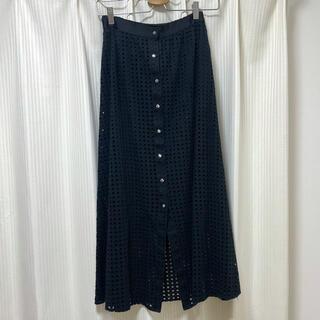 ローズバッド(ROSE BUD)のローズバッド ドットスカート(ロングスカート)