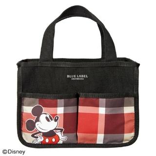 Disney - ブルーレーベル・クレストブリッジ ミッキーデザインのインテリアバッグ