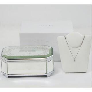 カナルヨンドシー(canal4℃)のcanal 4℃ ダイヤモンドネックレス ペンダント オルゴール付(ネックレス)