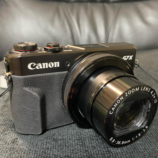 Canon(キヤノン)のCanon G7X MarkⅡ 美品 スマホ/家電/カメラのカメラ(コンパクトデジタルカメラ)の商品写真