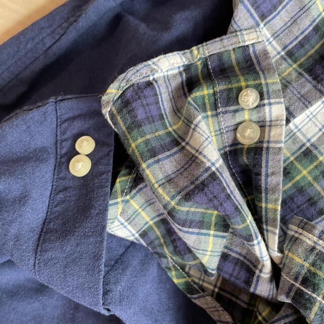 Ralph Lauren(ラルフローレン)のラルフローレン  キッズ 110 チェックシャツ 長袖 トップス キッズ/ベビー/マタニティのキッズ服男の子用(90cm~)(Tシャツ/カットソー)の商品写真