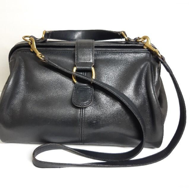 COACH(コーチ)の【超レア】COACH コーチ オールドコーチ 2WAY 黒 グラブタンレザー レディースのバッグ(ショルダーバッグ)の商品写真