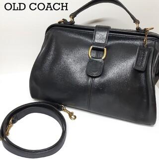 COACH - 【超レア】COACH コーチ オールドコーチ 2WAY 黒 グラブタンレザー