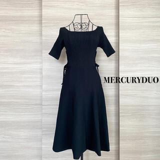 MERCURYDUO - MERCURYDUO マーキュリーデュオ ニットワンピース