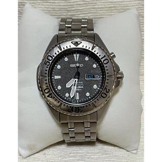 セイコー(SEIKO)のセイコー 5M63-0B40 キネティック スキューバ 200m防水 チタン(腕時計(アナログ))