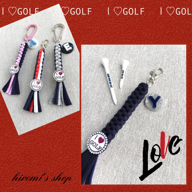 PEARLY GATES(パーリーゲイツ)のゴルフ ティーホルダー キャディバッグ カートバッグ スカート パンツ に❣️ スポーツ/アウトドアのゴルフ(ウエア)の商品写真