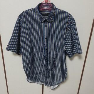 Balenciaga - BALENCIAGA ストライプシャツ