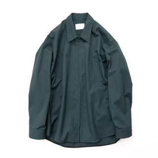 stein Oversized Zip Shirt Jacket