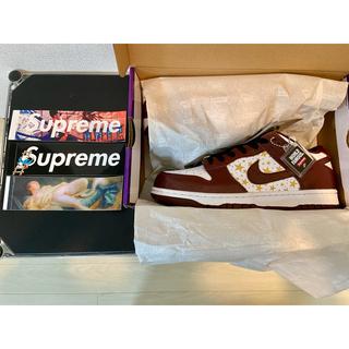 シュプリーム(Supreme)の27cm Supreme Nike Dunk Low Brown (スニーカー)