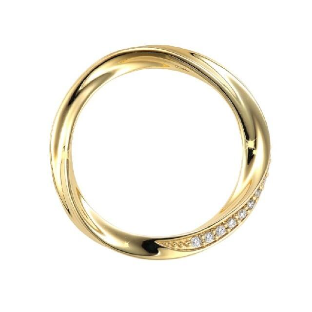 STAR JEWELRY(スタージュエリー)のSTARJEWELRスタージュエリー フォーエバーループK18ダイヤモンドリング レディースのアクセサリー(リング(指輪))の商品写真
