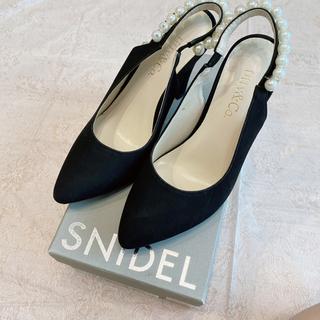 snidel - 【titty&co.】パンプス パール ブラック 結婚式 フォーマル
