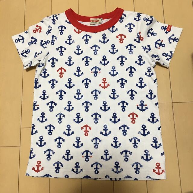 mikihouse(ミキハウス)のミキハウス 半袖Tシャツ 110cm キッズ/ベビー/マタニティのキッズ服男の子用(90cm~)(Tシャツ/カットソー)の商品写真