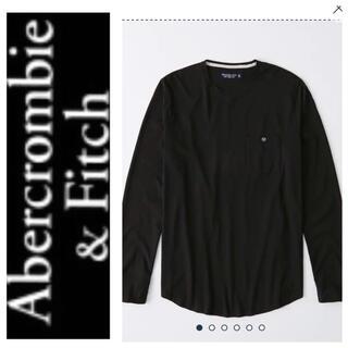 アバクロンビーアンドフィッチ(Abercrombie&Fitch)の◎S◎新品正規品◎アバクロ◎ポケットロングT◎送料込(Tシャツ/カットソー(七分/長袖))