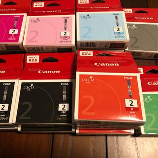 キヤノン(Canon)のCanon純正インク LUCIA ink 8色/合計15個(オフィス用品一般)