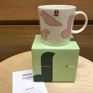 イッタラ(iittala)のプレゼント包装 ミナペルホネン イッタラ バードマグ ピンク(食器)