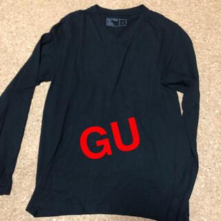 ジーユー(GU)のジーユー  ロングTシャツ S(Tシャツ/カットソー(七分/長袖))
