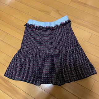 ナラカミーチェ(NARACAMICIE)のナラカミーチェ ii ツイードスカート(ひざ丈スカート)
