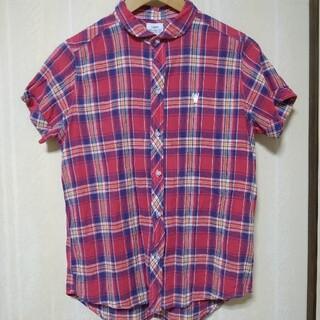 コーエン(coen)のコーエン チェックシャツ L coen(シャツ/ブラウス(半袖/袖なし))