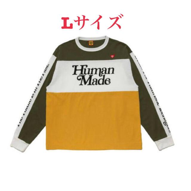 GDC(ジーディーシー)のHuman Made Verdy BMX SHIRT GDC L メンズのトップス(Tシャツ/カットソー(七分/長袖))の商品写真