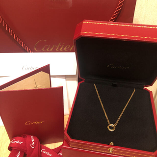 Cartier - Cartier カルティエ トリニティ ネックレス