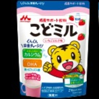 森永乳業 - エンタメ☆しまじろう こどミル イチゴミルク 1袋