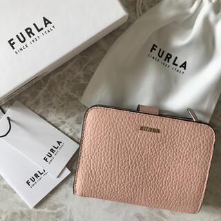 Furla - 新品!フルラ FURLA 二つ折り財布 ベージュ バレリーナ