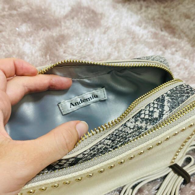 Andemiu(アンデミュウ)のアンデミュウ   ショルダーバッグ メンズのバッグ(ショルダーバッグ)の商品写真