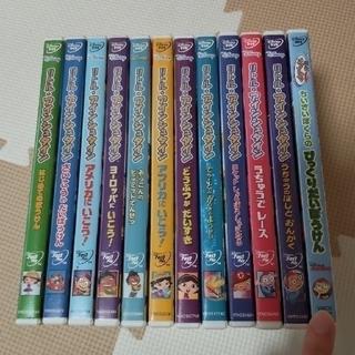 ディズニー(Disney)の【tama様ご専用です】リトルアインシュタイン DVD12枚セット(キッズ/ファミリー)