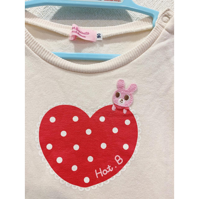 mikihouse(ミキハウス)のミキハウス トップス チュニック 90 キッズ/ベビー/マタニティのキッズ服女の子用(90cm~)(Tシャツ/カットソー)の商品写真