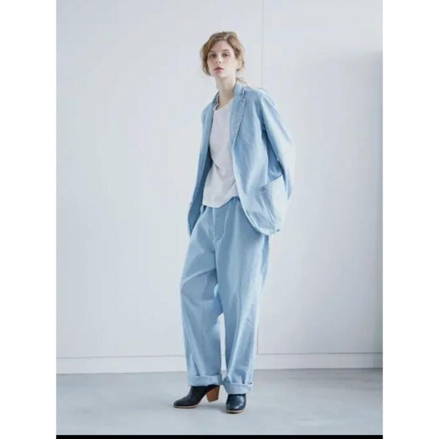 COMOLI(コモリ)の15aw comoli  デニム ワイドパンツ ベルテッドデニムパンツ 21ss メンズのパンツ(デニム/ジーンズ)の商品写真