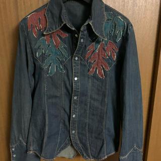 イサムカタヤマバックラッシュ(ISAMUKATAYAMA BACKLASH)のオベリスク デニムシャツ(シャツ)