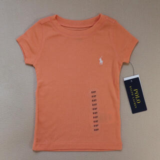 POLO RALPH LAUREN - 【新品】ポロラルフローレン 半袖 Tシャツ オレンジ 2T ポロ 子供服 ベビー