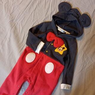 ディズニー(Disney)のディズニー Disney mickey カバーオール(カバーオール)