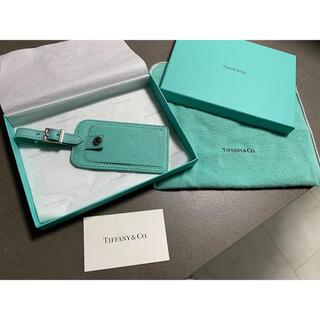 Tiffany & Co. - Tiffany 希少レザーネームタグ/パスケース♡人気色