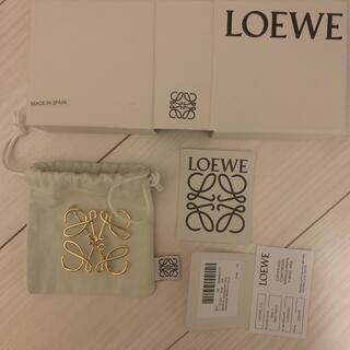 LOEWE - Loewe  アナグラムブローチ ゴールド