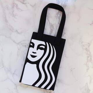 Starbucks Coffee - 【新品】台湾スターバックス ドリンクバッグ タンブラーバッグ サイレン 黒