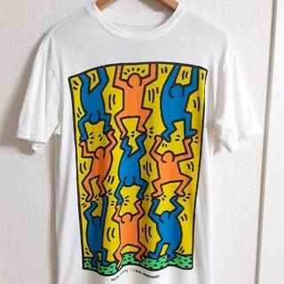 エイリアンワークショップ(Alien Workshop)のレア ALIEN WORKSHOP × Keith Haring コラボ TEE(Tシャツ/カットソー(半袖/袖なし))